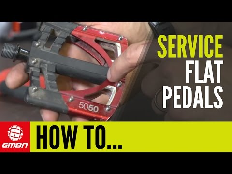 How To Service Mountain Bike Flat Pedals