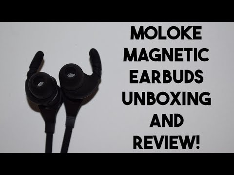 Moloke Earbuds Unboxing and Review!