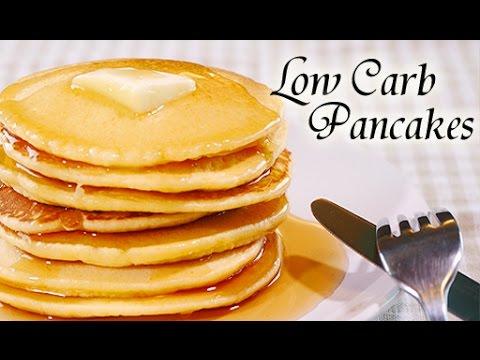 Low Carb Gluten Free Pancakes (RECIPE Using Almond Flour)【グルテンフリー】小麦粉を使わない低炭水化物パンケーキだよっ!