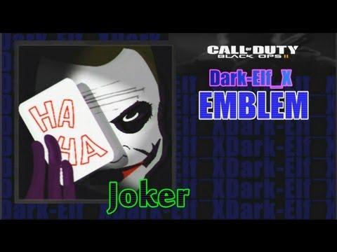 Black Ops 2 Emblem - Joker