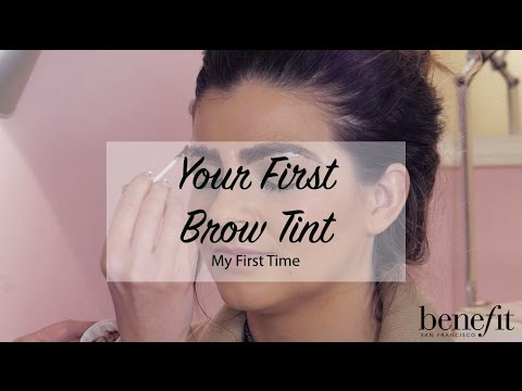 My First Time | Your First Brow Tint