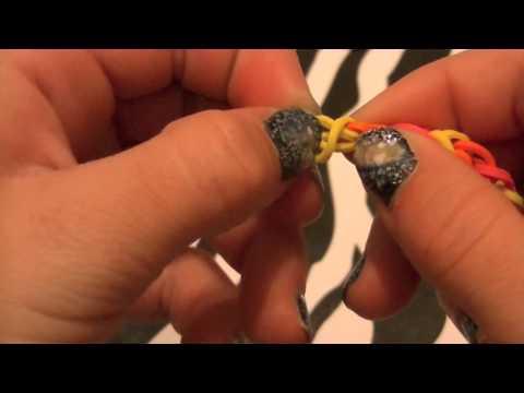 How to make a rainbow loom bracelet without the rainbow loom