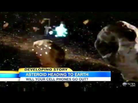 Asteroid Headed Toward Earth; Near Miss Could Disrupt Phone Service   Video   ABC News