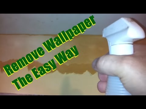 How remove wallpaper the easy way