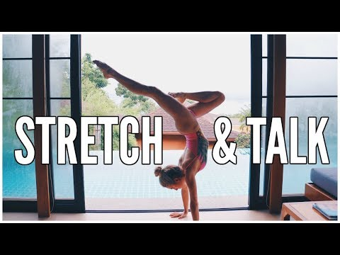 My Spirituality & How I Learned Yoga | STRETCH AND TALK
