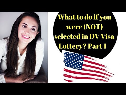 Live 🔴What to do if you were (not) selected in DV Visa Lottery