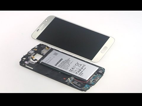How to replace Galaxy S6 cracked screen?