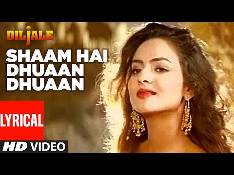 Loading Shaam Hai Dhuaan Dhuaan Lyrical Video | Diljale | Ajay Devgan | Madhoo | Poornima Now