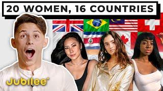 Dating 20 Women From Around the World | Versus 1