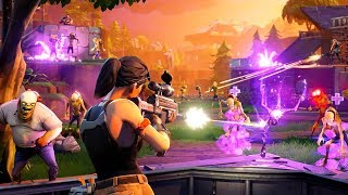ZOMBIE DEFENSE!! (Fortnite Save the World)