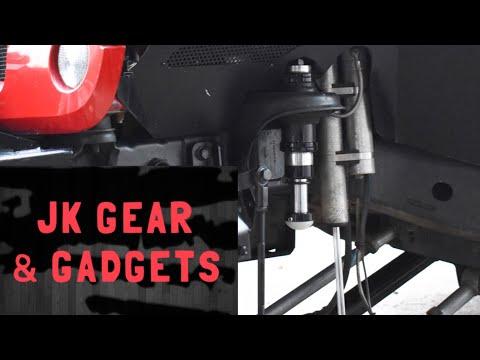 DV8 Hydraulic Bumpstop Install ~ Jeep Wrangler