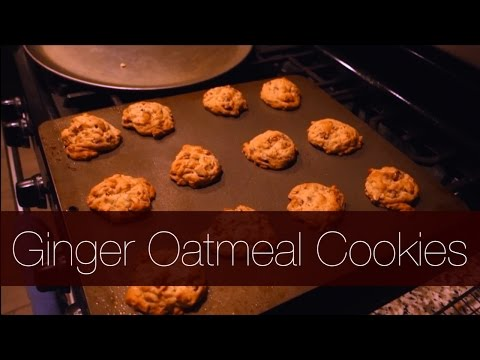 Let's Cook: Ginger Oatmeal Cookies