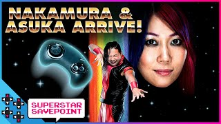ASUKA and SHINSUKE NAKAMURA arrive on UUDD!!! - Superstar Savepoint