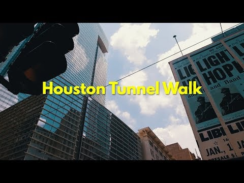 The Houston Tunnels Lunch Walk