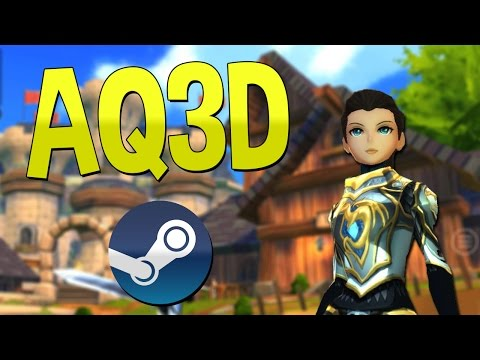 How to get AQ3D on Steam 2016