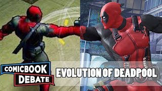 Evolution of Deadpool in Games in 6 Minutes (2017)