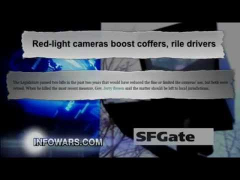 California Raking in Big Money on Red Light Cameras - InfoWars Nightly News