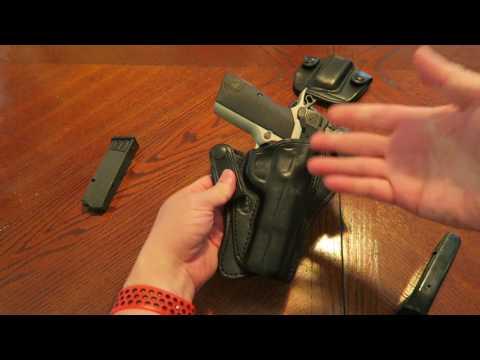 TT Gunleather Slim XC and Mag Holder (Browning Hi-Power)