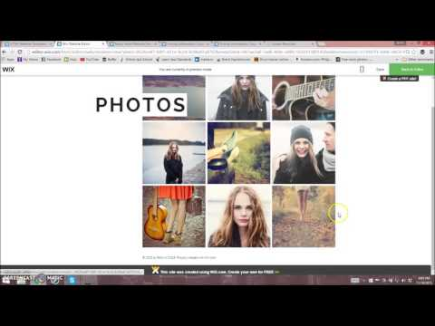 How To Set Up A Wix Website For Musicians