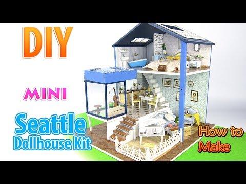 DIY Miniature Dollhouse Kit| DollHouse
