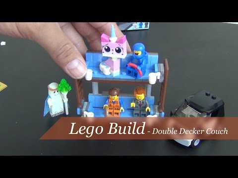 Let's Build - The Lego Movie Double Decker Couch Set #70818