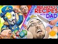 DAD'S BREAKFAST RECIPES + SOMEONE DELETES CHASE'S MUSICAL LY! Cap 'n Crunch Pancakes by FUNnel Fam