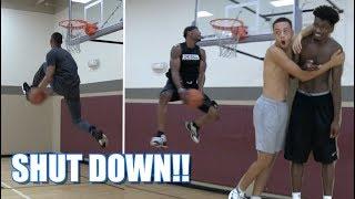 NEW DUNKS!! JClark & Chris Staples Shut the Gym DOWN!!