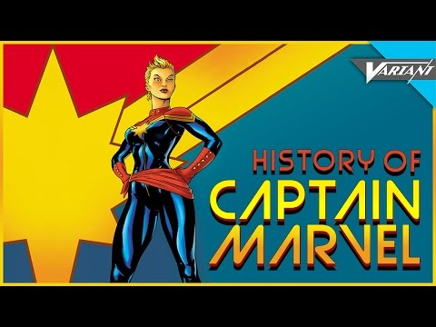 History Of Captain Marvel! (Carol Danvers)