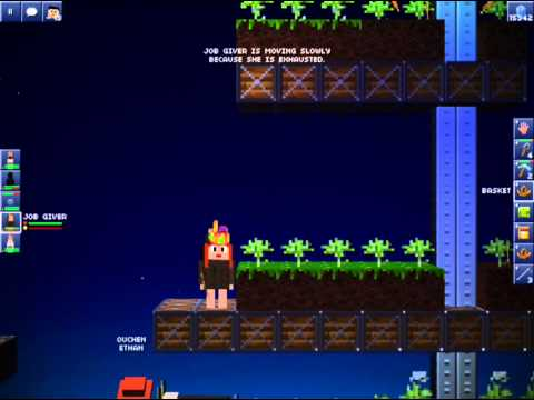 Blockheads - How to get pole items! Santa hat, speed boots & more!! SHARE :)