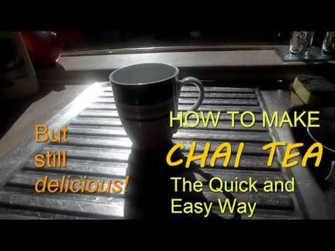How To Make Chai Tea | Quick And Easy Chai Tea Recipe