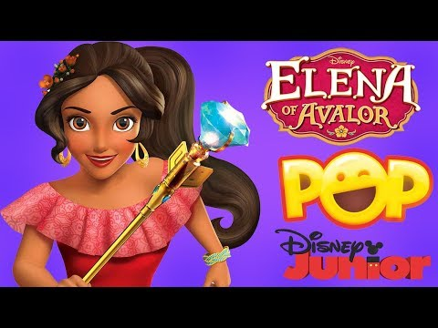 Elena Of Avalor Tv Show Game - Disney Junior Pop App For Kids