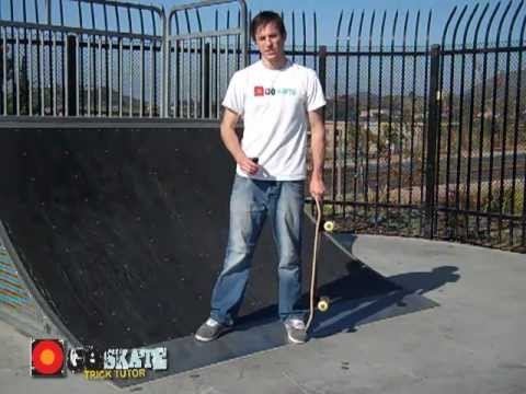 How to Kickturn on a Skate Ramp