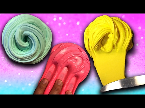 How to make DIY Butter Slime 3 Ways! 3 DIY Slime recipes