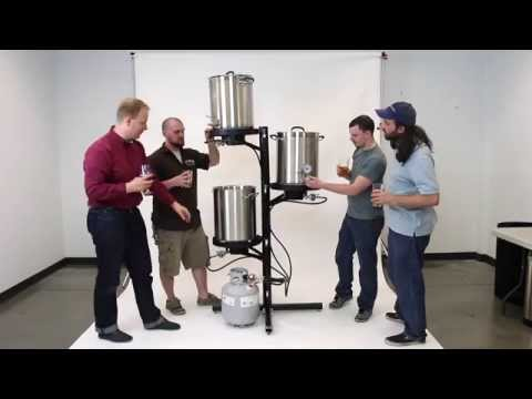 The Center of Gravity™ Brewhouse (Three Tiered Brewing Station)