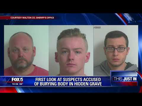First look at suspects accused of burying body