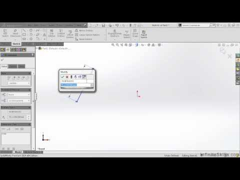 SolidWorks 2014 Tutorial | Smart Dimensions