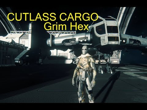 Star Citizen 3.0 : Cutlass Cargo Delivery and Exploring Grim Hex