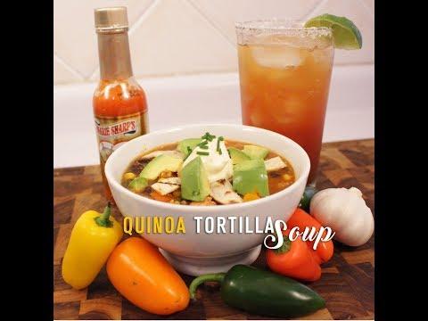 Quinoa Tortilla Soup