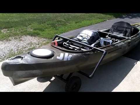 Kayak Dolly - home made DIY