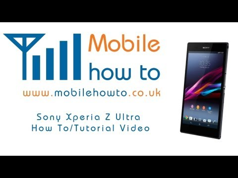 How To Switch Mobile Data On & Off When Roaming Abroad - Sony Xperia Z Ultra