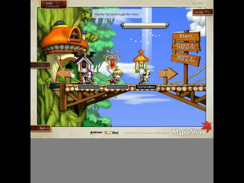 maplestory( you can create two ultimate explorers on the same account)