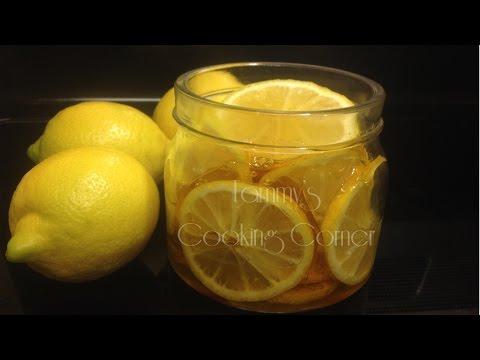 Honey Lemon - Chanh Ngam Mat Ong - Honey Lime - Honey Kumquat