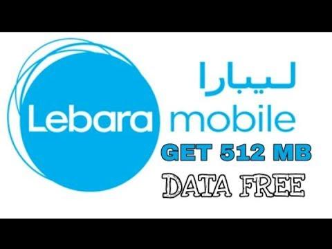 Get 512 MB free data from LEBARA sim|100% working in KSA(Saudi Arabia)