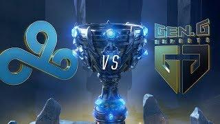 Download C9 vs GEN   Worlds Group Stage Day 3   Cloud9 vs Gen.G (2018) Video