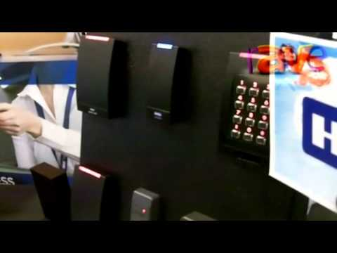 SYNNEX 2012: HID Demos Access Control Card Proximity, iCLASS and Chip Readers, Printers