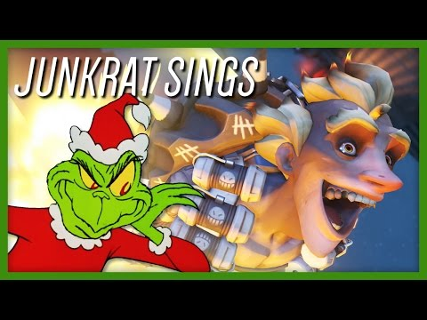 Junkrat Sings: You're A Mean One, Mr. Grinch - Overwatch Impression Cover