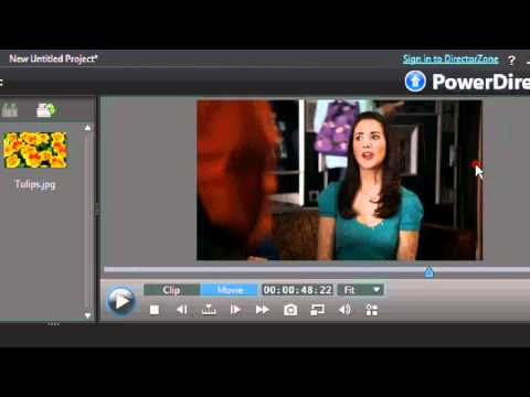 How to produce full screen videos on Cyberlink Power Director