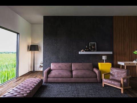 VRay HDRI interior lighting, setting and rendering