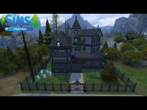 Les Sims 4 : Maison de vampire sans CC  / Construction - Speed build