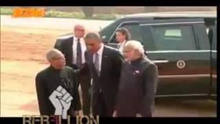 Funny video - Modi Talk In Punjabi With Obama